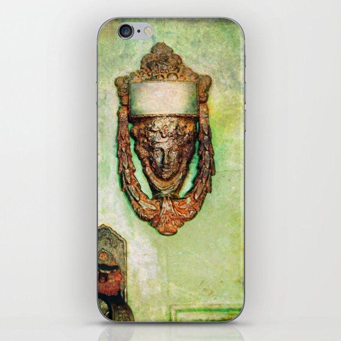 Brass Knocker iPhone Skin