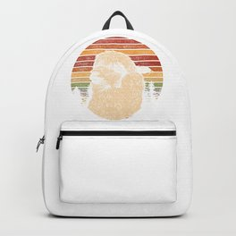 Retro Llama Animal Backpack