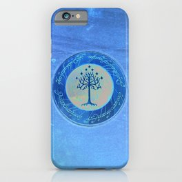 White Tree iPhone Case