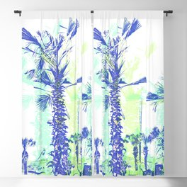 That Tropical Feel:  Palm Trees Blackout Curtain