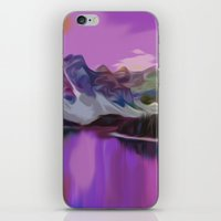 river iPhone & iPod Skins featuring River by Asya Solo