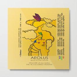 AEOLUS (god of the winds) Metal Print