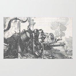 War monster - Salomon Savery (1657) Rug