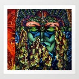 Asparogo Art Print