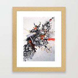 Organic Geometry Framed Art Print