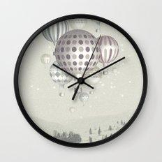 Winter Dreamflight Wall Clock