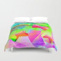 wonderland Duvet Covers featuring Wonderland by dominiquelandau
