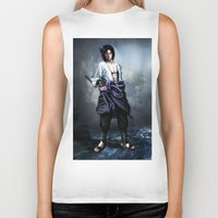 sasuke Biker Tanks featuring Sasuke real style portrait by Shibuz4