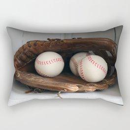 Baseball Glove Rectangular Pillow