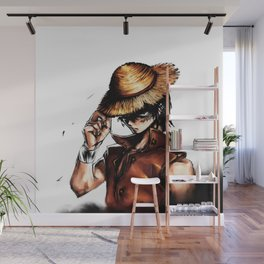 mugiwara luffy Wall Mural