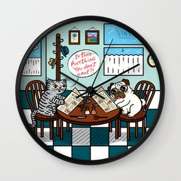 Is There Anything You Don't Want Wall Clock