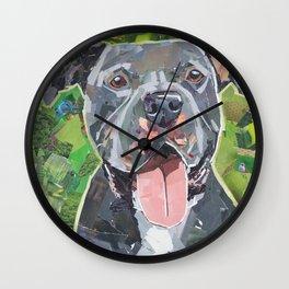 Keeto The Pittie Wall Clock