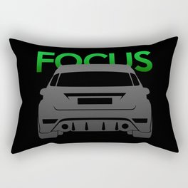 Ford Focus RS Rectangular Pillow