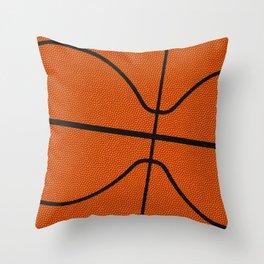Fantasy Basketball Super Fan Free Throw Throw Pillow