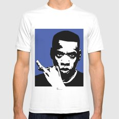 Jay Z Mens Fitted Tee MEDIUM White
