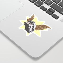 Flying Bus Sticker