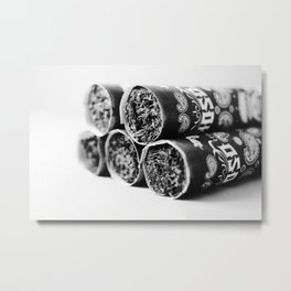 One Shot. One Kill. OSOK Cigar (2013 Shot for release party) Metal Print