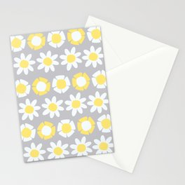 Peggy Yellow Stationery Cards