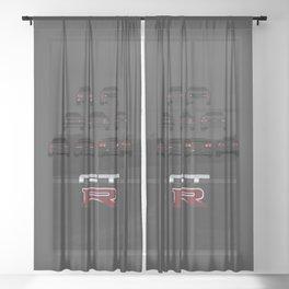GTR Sheer Curtain