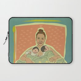 Mother with Twins Laptop Sleeve