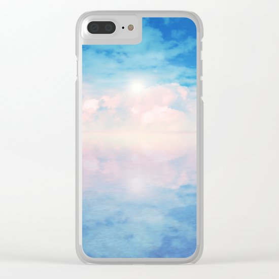 Out to Sea IV Clear iPhone Case