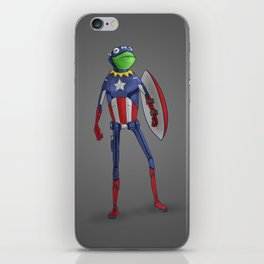 Captain Kermit iPhone Skin