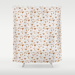 Autumn Seed Shower Curtain