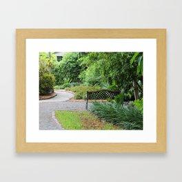 The Hemmingway House Framed Art Print