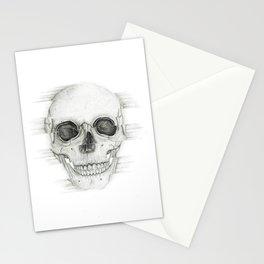 Dissovling Skull Stationery Cards