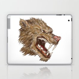 Head with sharp teeth Laptop & iPad Skin