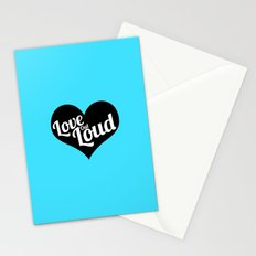 Love Out Loud - Black & White Stationery Cards