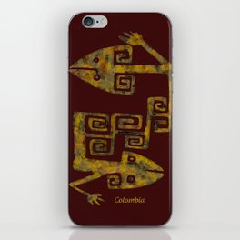 Colombian culture iPhone Skin