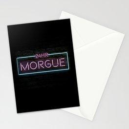 24hr Morgue Stationery Cards