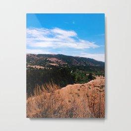 Garland Ranch Metal Print