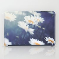 daisies iPad Cases featuring Daisies by Kameron Elisabeth