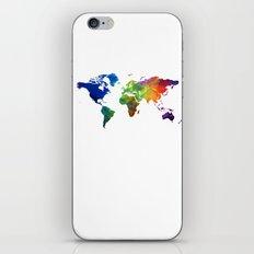 colour map 4 iPhone & iPod Skin