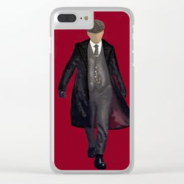 Gangster Clear iPhone Case