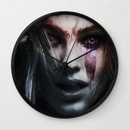 Larme Violette  Wall Clock