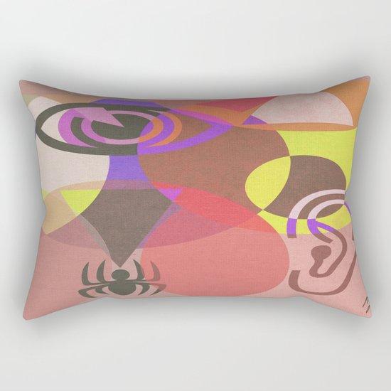 Wisdom and Fear Rectangular Pillow