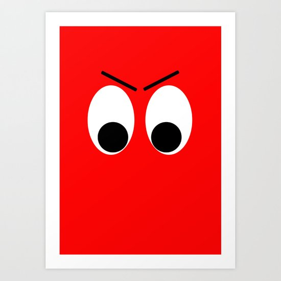 I is Mad Art Print