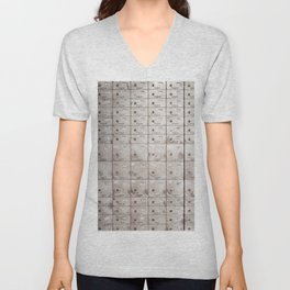 Chests with numbers Unisex V-Neck