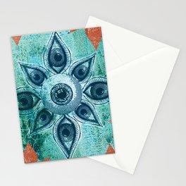 Mandalas Eyes Stationery Cards