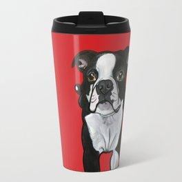 Bobo the Boston terrier Travel Mug