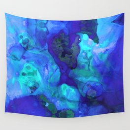 Violet Blue - Abstract Art By Sharon Cummings Wall Tapestry