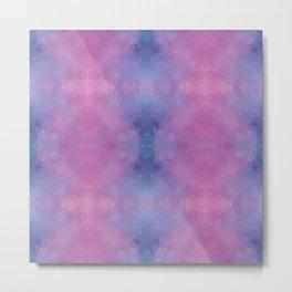 Kaleidoscopic design in soft colors Metal Print