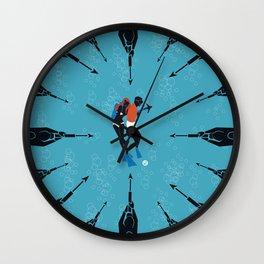 Thunderball Wall Clock