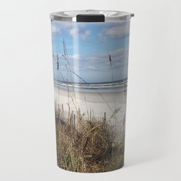Screen of Sea Oats Travel Mug