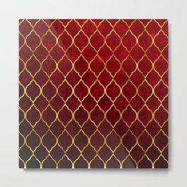 Moroccan Tile islamic pattern #society6 #decor #buyart #artprint Metal Print
