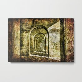 Ancient Arches Metal Print