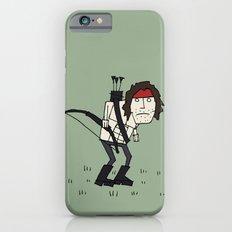 Sad John Rambo In A Field iPhone 6s Slim Case